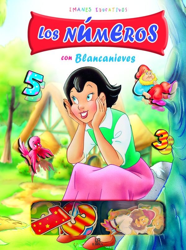 Imanes Educativos : Los Numeros Con Blancanieves por Vv.aa. Gratis
