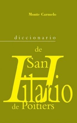 Diccionario San Hilario De Poitiers por Vv.aa. epub