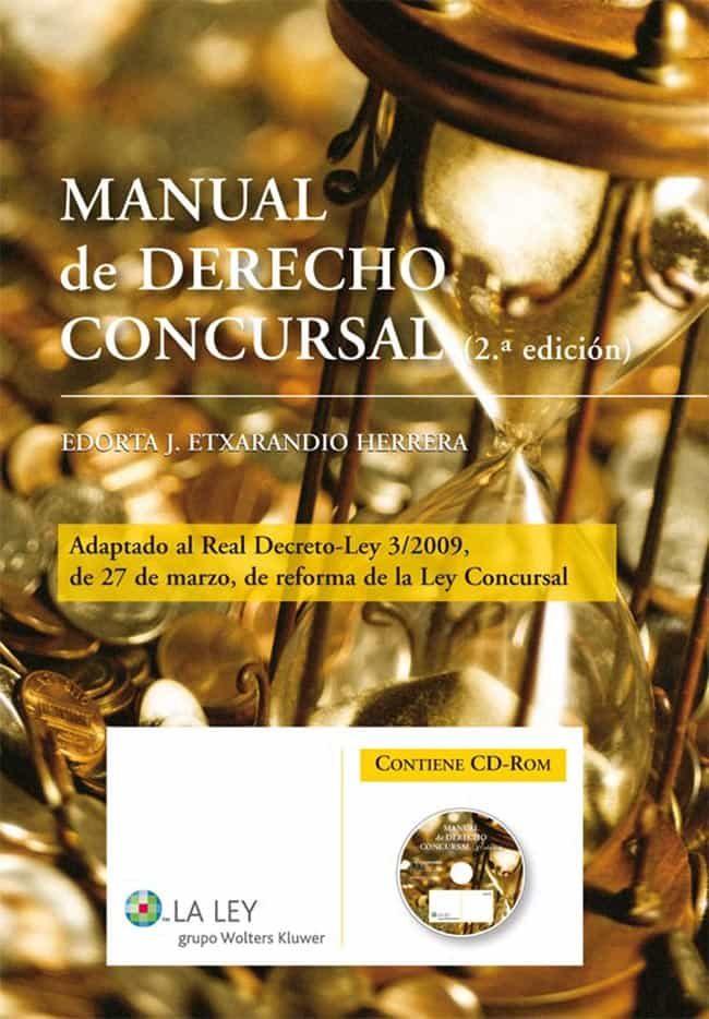 Manual de derecho concursal ebook edorta j etxarandio herrera 9788481267174