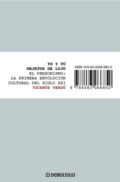 Yo Y Tu, Objetos De Lujo por Vicente Verdu Gratis