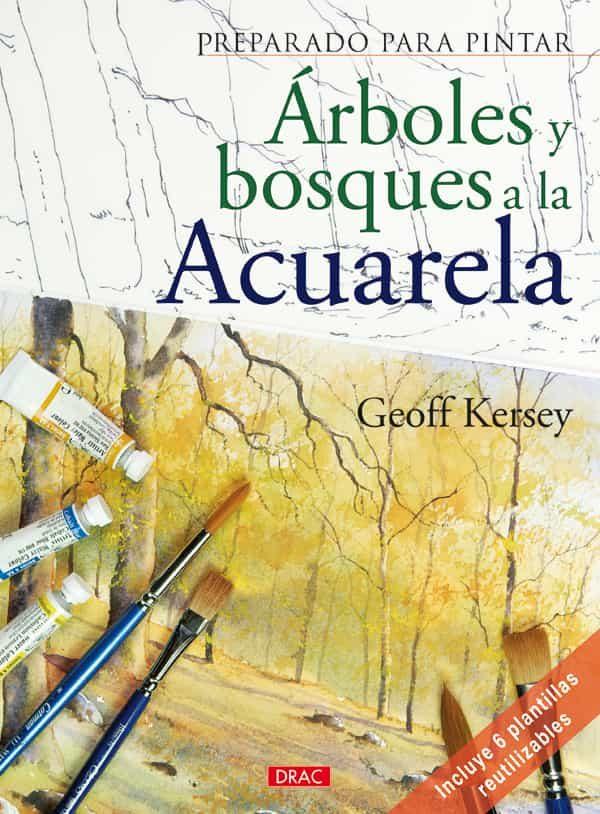 preparado para pintar arboles y bosques a la acuarela-9788498740974
