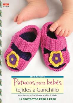 Patucos Para Bebes Tejidos A Ganchillo por Marina-regina Almeyer