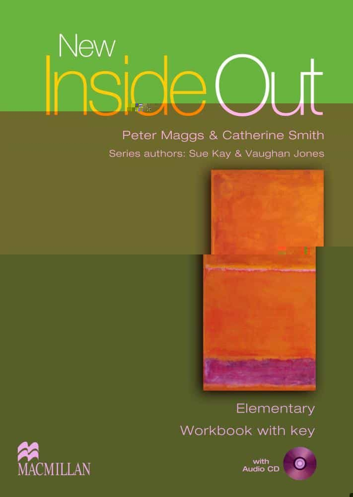 New Inside Out Elementary Workbook Pack With Key por Vv.aa. epub
