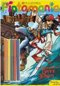 Piratas Del Caribe: Pintamania Rotuladores: El Corazon De Davy Jo Nes por Vv.aa. Gratis