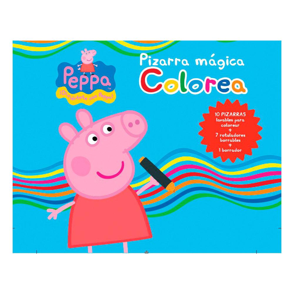 PEPPA PIG. PIZARRA MAGICA: COLOREA | VV.AA. | Comprar libro ...