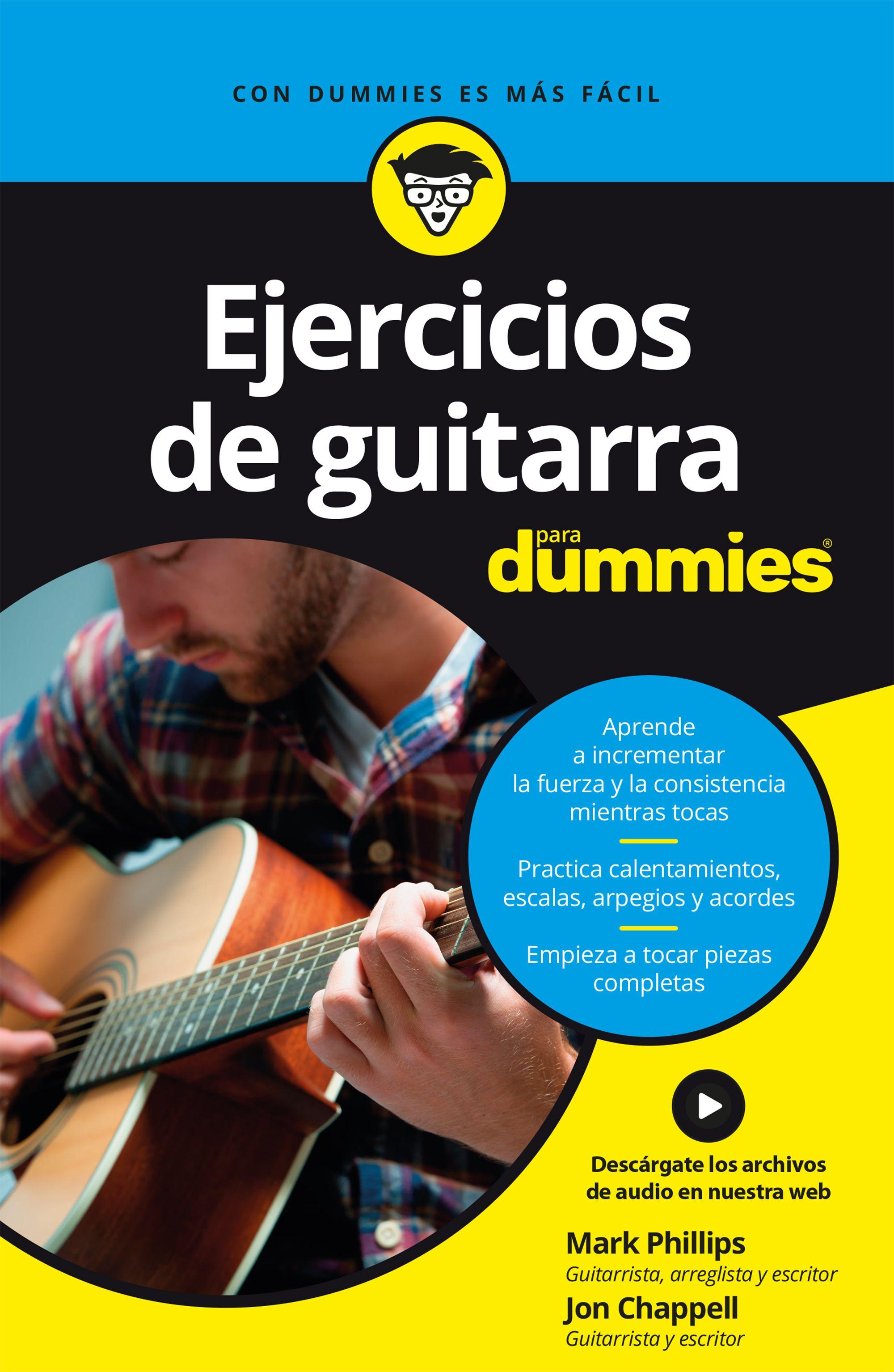ejercicios de guitarra para dummies-mark phillips-jon chappell-9788432904684