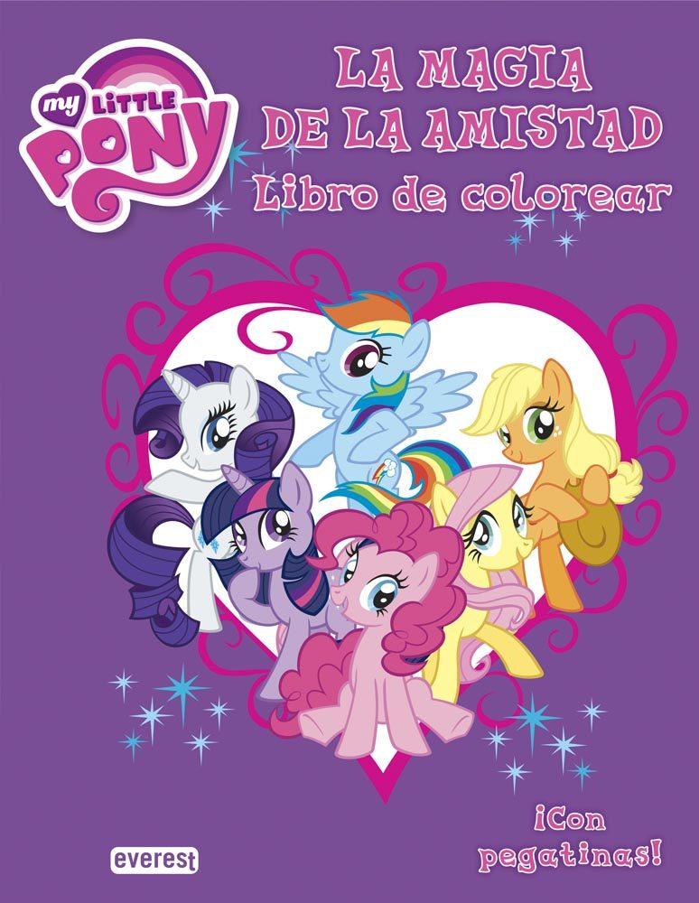 Bonito Libro De Colorear Pony Inspiración - Dibujos Para Colorear En ...
