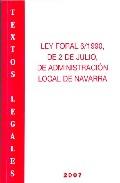 Ley Foral 6/1990 De 2 De Julio, De Administracion Local Navarra por Vv.aa. epub