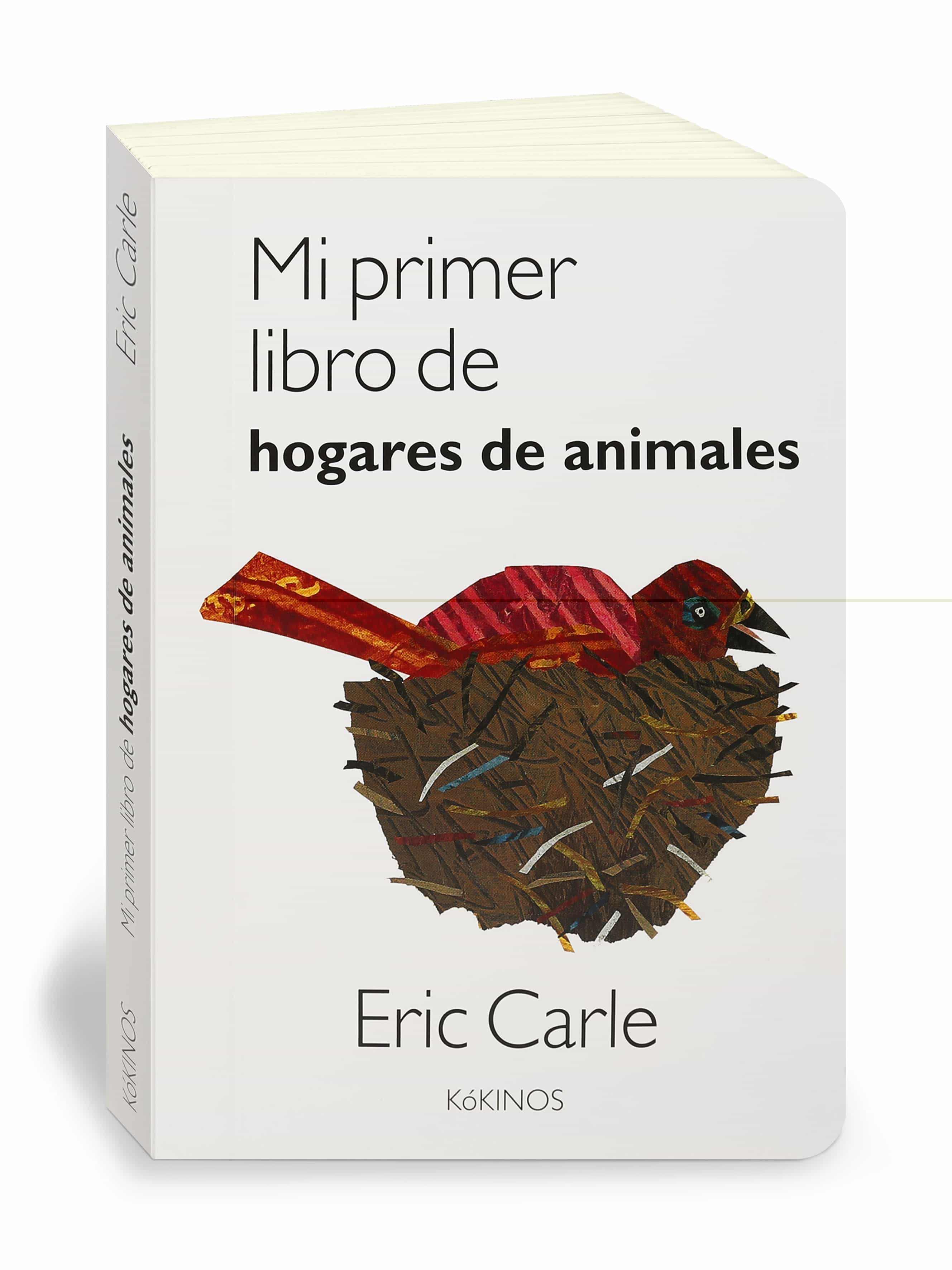 Mi Primer Libro De Hogares De Animales por Eric Carle