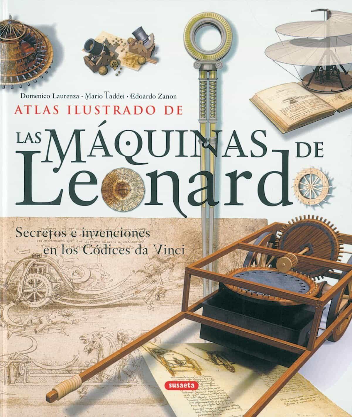 Resultado de imagen de MAQUINAS E INVENTOS LIBRO DE LEONARDO