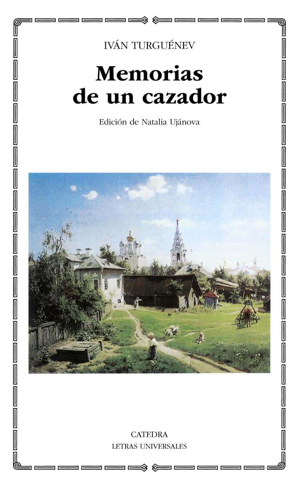 MEMORIAS DE UN CAZADOR   IVAN S. TURGUENEV   Comprar libro 9788437623894