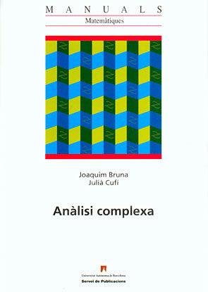 Analisi Complexa por Joaquim Bruna
