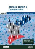 Conselleria De Sanidad Universal Y Salud Publica: Temario Comun Y Cuestionarios por Vv.aa.