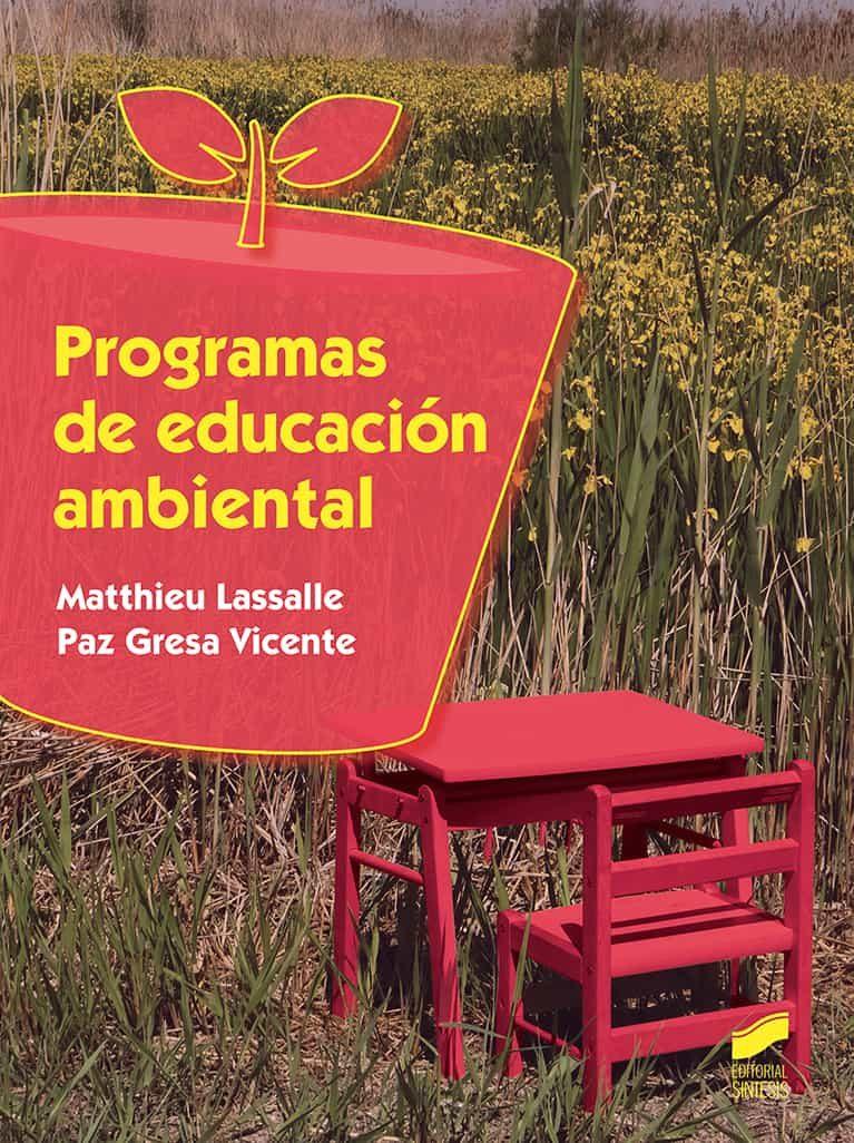 descargar PROGRAMAS DE EDUCACIÓN AMBIENTAL pdf, ebook