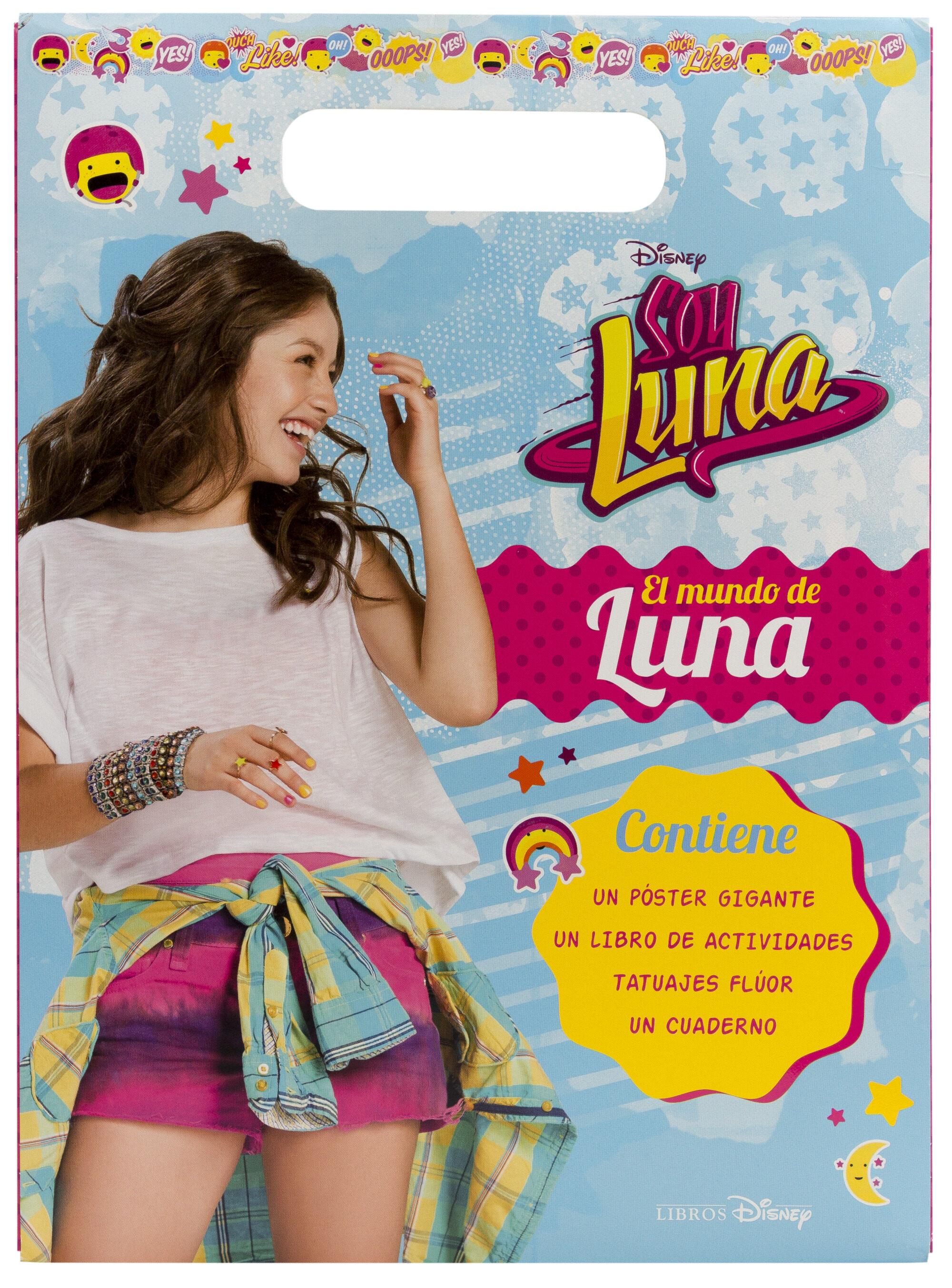 Soy Luna El Mundo De Luna Actividades Con Poster Tatuajes Y
