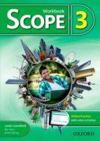 scope 3. workbook + online practice pack ben wetz lewis lansford 9780194506304