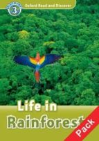 oxford read and discover 3: life in rainforests audio pack-wole soyinka-9780194644204