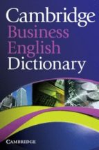 cambridge business english dictionary (paperback) 9780521122504