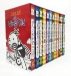 diary of a wimpy kid box of books jeff kinney 9781419734304