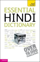essential hindi dictionary (teach yourself) rupert snell 9781444104004