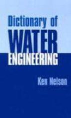 Libro para descargar pdf Dictionary of water engineering