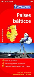 paises balticos 2012 (ref. 781) (mapas national) 9782067173804