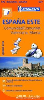 mapa regional comunidad valenciana, murcia 9782067184404