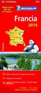 mapa national francia 2014 (ref. 11721)-9782067191204