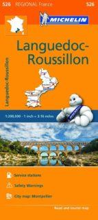 mapa regional languedoc rousillon-9782067209404