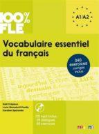 vocabulaire essentiel du français : a1, a2(+ 1 cd mp3)-gael crepieux-lucie mensdorff-9782278083404