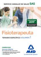 fisioterapeuta del servicio andaluz de salud. temario específico volumen 1 9788414203804