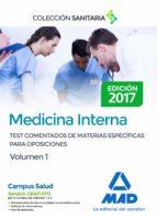 medicina interna. test comentados de materias específicas para op osiciones. volumen 1-9788414206904