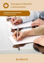 (i.b.d.)reposteria. hotr0509 guia para el docente y solucionarios-9788415648604