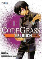 code geass: lelouch, el de la rebelion nº 1 9788415680604