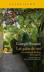 las gafas de oro: la novela de ferrara (la novela de ferrara ii) giorgio bassani 9788416011704