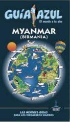 myanmar (birmania) 2016 (guia azul) 9788416408504