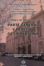 lecciones de derecho civil (2ª ed.)-martin garcia-ripoll montinajo-9788416908004