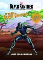 BLACK PANTHER: LOS ORIGENES. LA LEYENDA DE BLACK PANTHER: LIBRO PARA COLOREAR CON PEGATINAS
