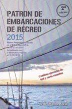 patron de embarcaciones de recreo 2015 (2ª ed.) javier muñoz abela 9788417003104