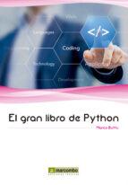 el gran libro de phyton marco buttu 9788426722904