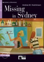 missing in sidney (book + cd) (black cat reading and training) 9788431608804