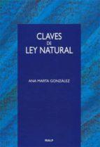 claves de la ley natural-ana marta gonzalez-9788432135804
