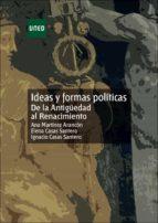 ideas y formas politicas de la antiguedad al renacimiento: unidad didactica-ana martinez arancon-elena casas santero-9788436249804