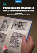 psicologia del desarrollo i: desde el nacimiento a la primera i nfancia 9788448168704