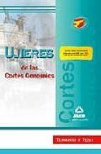 UJIERES DE LAS CORTES GENERALES. TEMARIO Y TEST