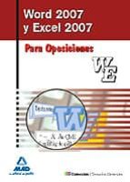 word y excel 2007. manual ivan rocha freire 9788467637304