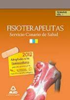 fisioterapeutas del servicio canario de salud/hospital universita rio de canarias temario: volumen i-9788467649604