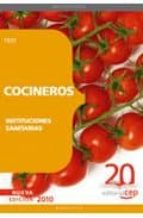cocineros de instituciones sanitarias. test-9788468101804