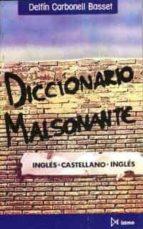 diccionario malsonante ingles-castellano-ingles-delfin carbonell basset-9788470902604