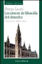 lecciones de filosofia del derecho bruno leoni 9788472094604